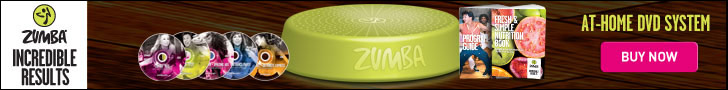 Get 20% off Zumba's Incredible Results At-Home DVD set Today!