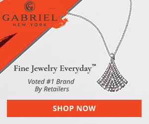 Website Banner: Shop Now Fine Jewelry Banner, Necklace, 300 x 250