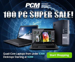 100 PC SUPER SALE! 300x250