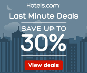 Feature 2: Hotels.com: Last Minute Sale 30% off
