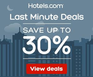 Hotels.com coupon code - Last Minute Deals