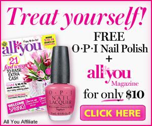 FREE OPI Nail Polish with All.