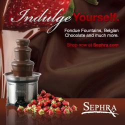 Sephra Home Chocolate Fondue Fountain - Order Now!