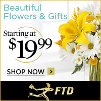 Beautiful Flowers & Gifts starting at $19.99 200 x 200