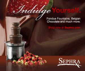 Sephra Home Chocolate Fondue & Fountain - Shop Now