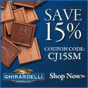 Ghirardelli Chocolate - 15% Off with Promo Code CJ15SM