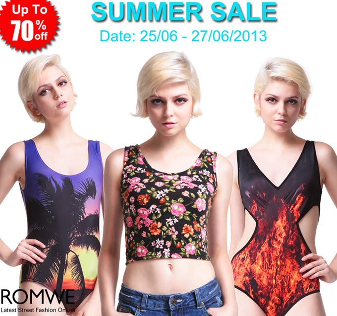 Romwe Summer Sale