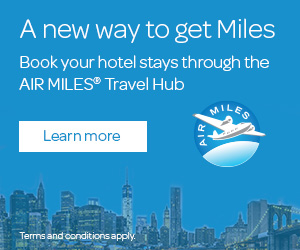 book air miles hotels