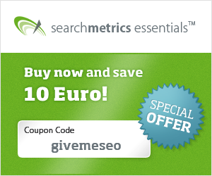Searchmetrics Essentials Coupon