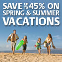Save 45% on Spring &Summer Beach Vacation