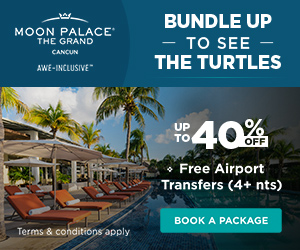Vacation Packages 2x1 at The Grand at Moon Palace.