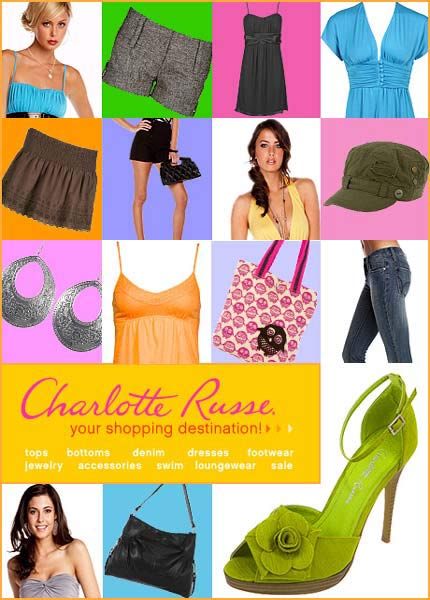 CharlotteRusse.com is your Shopping Destination!