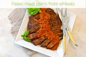 Paleo meal plans from eMeals