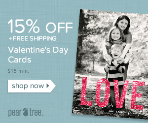 15% OFF Valentine's Day purchases + free Economy shipping.