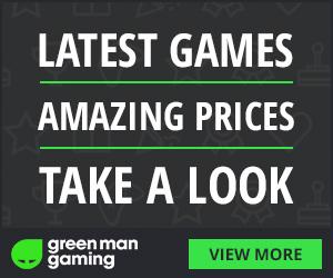 20% de réduction sur plus de 100 jeux sur GreenMan Gaming