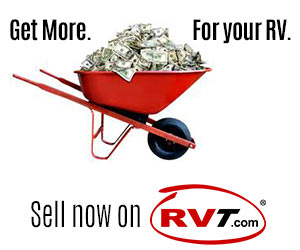 wheelbarrow of cash - sell an RV