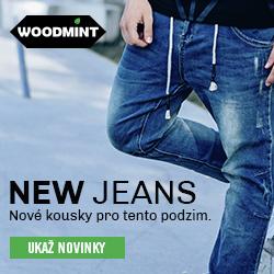 Džíny na WOODMINT.cz