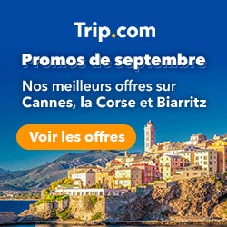 Promos de septembre ! Nos meilleurs offres sur Cannes, la Corse et Biarritz !