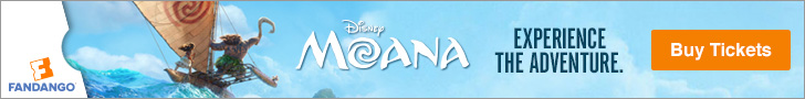 Buy Moana Tickets at Fandango