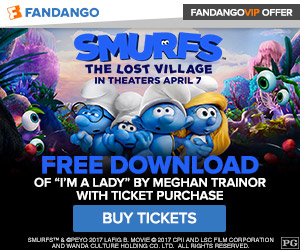 Fandango - Smurfs: The Lost Village GWP