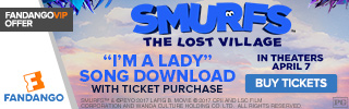 Fandango - Smurfs: The Lost Village GWP