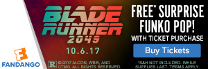 Free Blade Runner Funko POP!