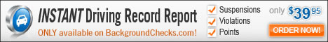 Instant Driving Record Report