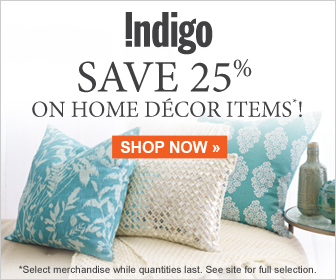 Save 25% on Select Spring Home Decor!