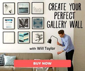Learn Modern Wall Stenciling!