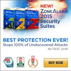 ZoneAlarm Security Suite