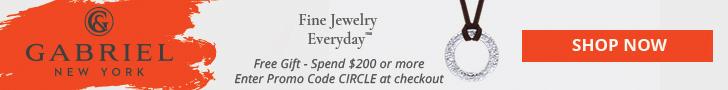 Promo Code Banner, $200 Orders Get Free Circle Of Life Pendant, 728 x 90