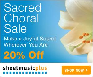 Sacred Choral Sale - 20% off