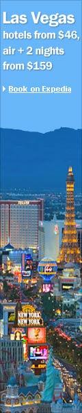 Vegas deals at Expedia