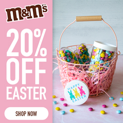 20% Off All Easter! Use Code EASTER21! Valid 3/14 - 3/20!