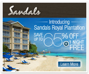 Sandals Promo Code - Get one night free plus save up to 65% at Sandals