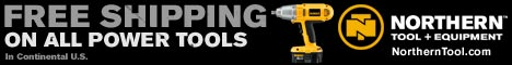 Free Shipping on All Power Tools!