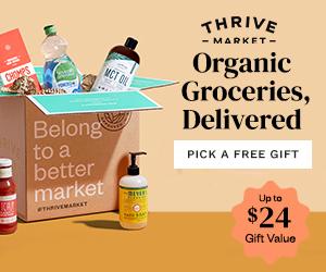 Thrive Market Gift
