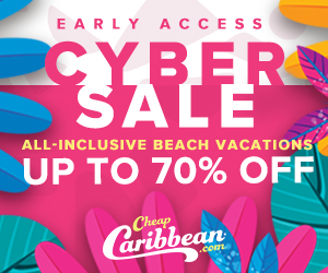 CheapCaribbean.com: Up to 70% Off Cyber Sale Early Access