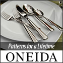 Shop Patterns for a Lifetime at Oneida.com