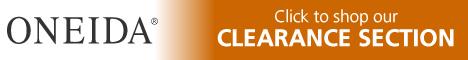 Shop Oneida.com Clearance