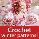Crochet winter patterns -- download today!