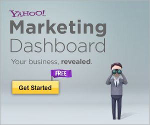 Free Yahoo! Marketing Dashboard