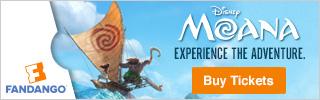 Buy Moana Tickets at Fandango