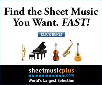 Sheet Music Plus 336 x 280 Variety Banner