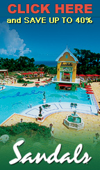 Save up to 40% at Sandals Resorts