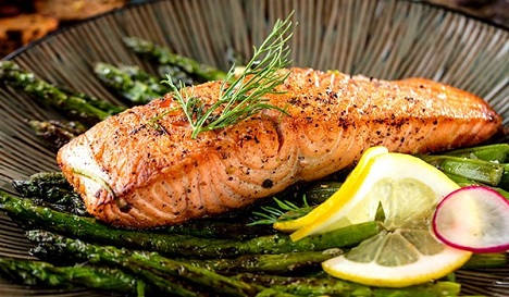 A New Years Resolution for Vegetarians! Consider taste of the wild salmon!