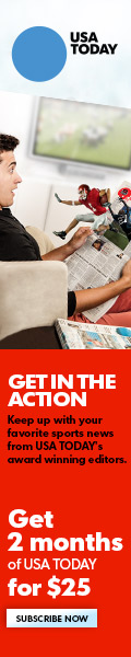 120x600 USA Today Sports - First 2 Months of USA Today for $25