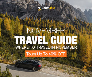 November Travel Guide Promotion: Up to 20% Off