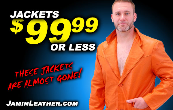 Jamin Leather - Jackets for $99 or Less!