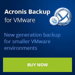 Acronis vmProtect 8 - Best Backup for VMware